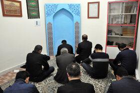برگزاری مراسم زیارت عاشورا در اداره کل کانون استان اردبیل