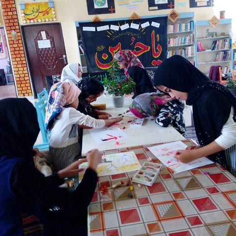 سوگواری حسینی در کانون دولتآباد