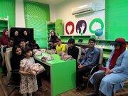 استقبال اعضای مرکز فراگیر در مرحله کتابخانهای جشنواره بینالمللی قصهگویی در کرمانشاه