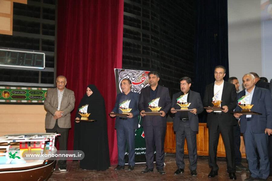 اداره کل کانون پرورش فکری هرمزگان برگزیده جشنواره شهید رجایی استان شد
