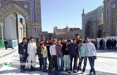 اعضای مراکز فرهنگیهنری حوزهی سیستان مهمان امام رضا(ع) شدند