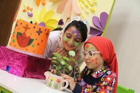 برگزاری ویژهبرنامه «گل و گلدان» در کانون شماره 31 تهران