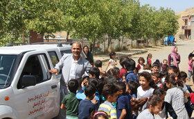 کتابخانه سیار روستایی مریوان به مهمانی دلهای  کودکان و نوجوانان 17 روستا می رود
