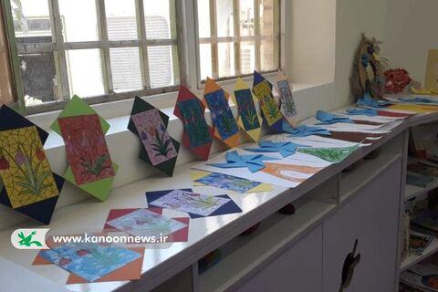 نمایشگاه پایان تابستان مرکز شماره ۹ کانون قم