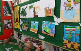 نمایشگاه گرامی داشت هفته دفاع مقدس درکانون لرستان