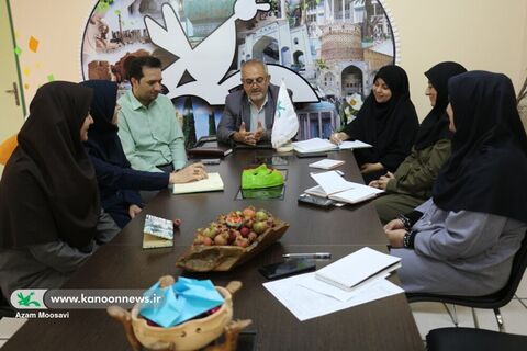 اولین جلسه هماهنگی و برنامهریزی هفته ملی کودک