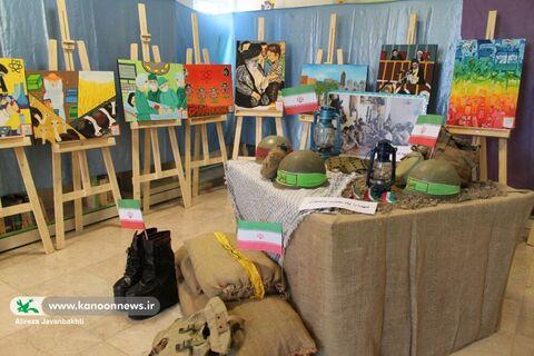 مهمانی نقاشی ها به مناسبت هفته دفاع مقدس