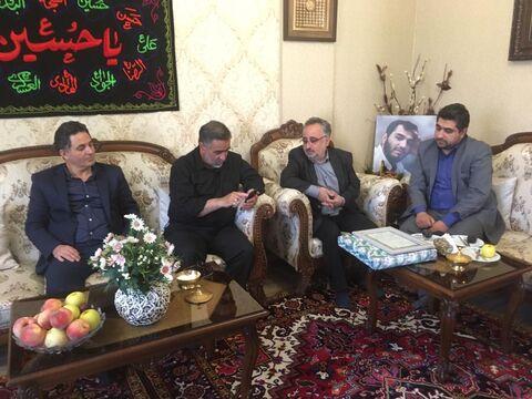 دیدار با خانواده معظم شهید وحید فرهنگی والا ، شهید مدافع حرم و عضو کانون پرورش فکری