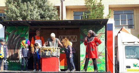 همکاری کانون استان قزوین با آیین بازگشایی مدارس
