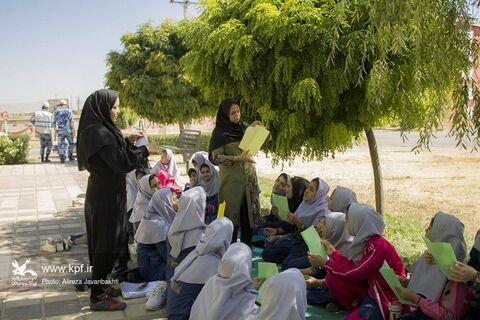برنامه کبوترانه در پایگاه نوژه همدان
