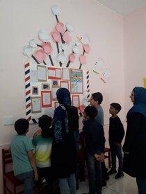 نمایشگاه آثار اعضای کانون پرورش فکری استان زنجان در مراکز