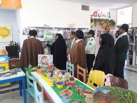 نمایشگاه هفته دفاع مقدس درمرکز کانون الشتر