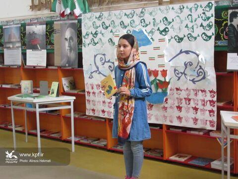 گرامی داشت هفته دفاع مقدس در مراکز کانون پرورش فکری استان کرمانشاه