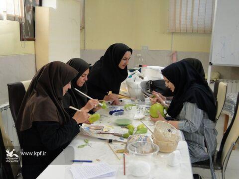 دوره آموزش عروسک سازی در کانون پرورش فکری کودکان و نوجوانان استان اصفهان برگزار شد