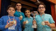 رقابت شطرنجبازان مراکز کانون تهران در مسابقه استانی شطرنج