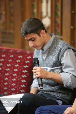 چهارمین شب شعر عاشورایی کانون استان قزوین