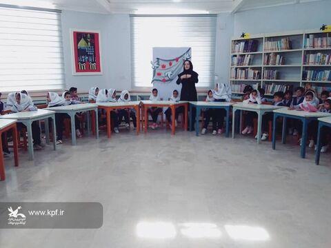 ویژه برنامه قصه پیروزی درکانون پرورش فکری جاسک