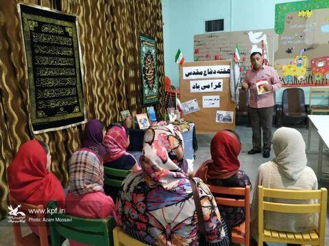 بزرگداشت هفته دفاع مقدس در مراکز فرهنگی هنری کانون فارس