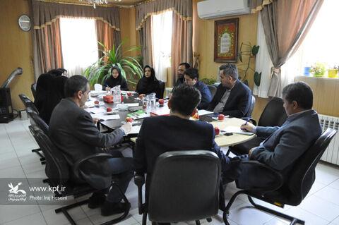 جلسهی شورای هماهنگی روز جهانی و هفته ملی کودک در کانون استان اردبیل