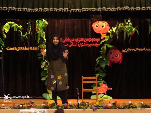 آغاز به کار روایان قصه گو در شهر گنبدهای فیروزه ای