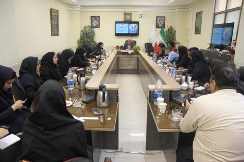 نشست خبری مدیرکل کانون پرورش فکری استان آذربایجانغربی