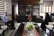 سرپرست کانون پرورش فکری بوشهر با استانداربوشهر دیدار کرد