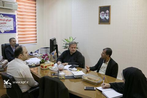 شورای توسعه راهبری مدیریت در کانون سمنان تشکیل جلسه داد