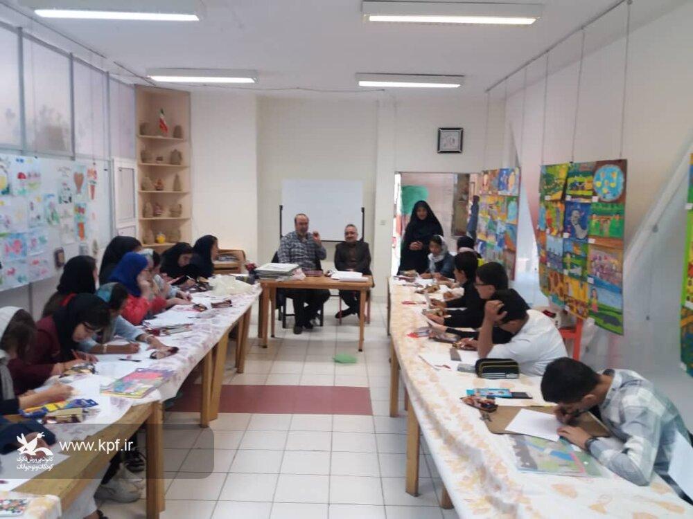 سومین جلسه انجمن هنرهای تجسمی در کانون تبریز برگزار شد