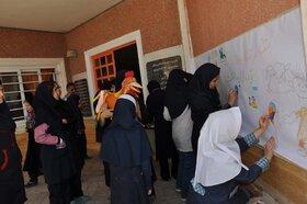 اجرای ویژه برنامه های هفته ملی کودک در مدرسه استثنایی زمردیان کرج