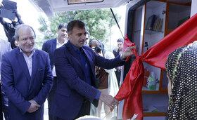 افتتاح دو دستگاه کتابخانه سیار روستایی شهرستان بندرعباس