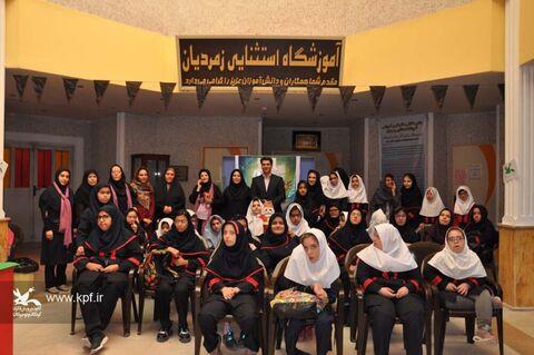 اجرای فعالیتهای کانون برای کودکان توانیاب مدرسهی زمردیان