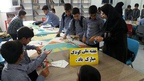 مراکز کانون لرستان در اولین روز از هفته ملی کودک
