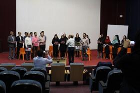 نشست آموزشی سرود در سالن آمفی تیاتر مرکز 3بجنورد برگزار شد