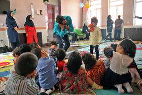 کودکانی ویژه که به میهمانی هفته ملی کودک در کرمانشاه دعوت شدند