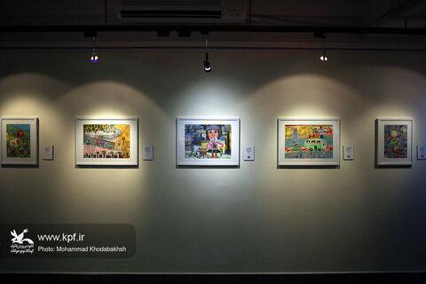 ۴۰ درصد آثار نمایشگاه نقاشی «شهری که من دوست دارم» اعضای کانون هستند