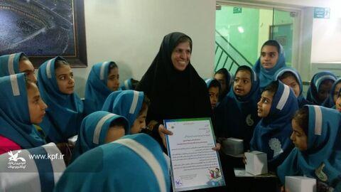 مدیرکل سازمان انتقال خون سیستان و بلوچستان میزبان کودکان کانون