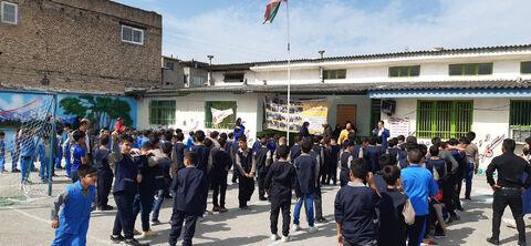 پیک امید کانون پرورش فکری مازندران برای دانش آموزان کم برخوردار