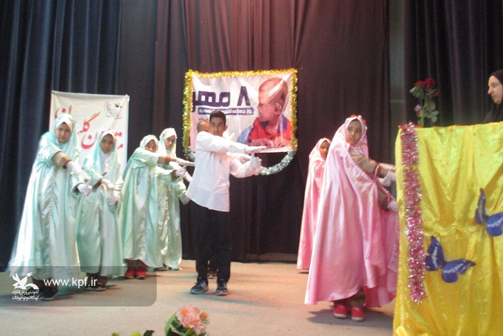 ویژهبرنامهی «بر بال پروانهها» در کانون سمنان برگزار شد