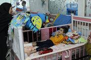 در سومین روز هفته ملی کودک از کودکان بیمار عیادت شد
