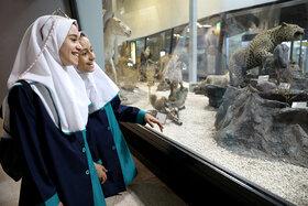 بازدید کودکان و نوجوانان کانون از موزه پارک پردیسان