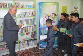 افتتاح کتابخانه دبستان شهید کاظمی ارومیه