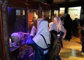 بازدید اعضای کانون علی آباد کتول از موزه کبود وال