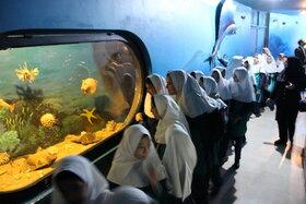 بازدید از موزه تنوع زیستی در هفته ملی کودک