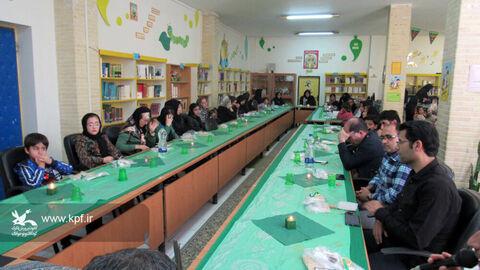 ویژهبرنامه مذهبی سفره حضرت رقیه (س) در مرکز شماره ۵ کانون اردبیل