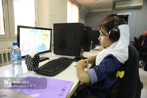 بازدید کودکان و نوجوانان از مجموعه کودک آنلاین