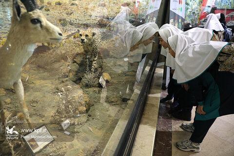 ۱۸۰ کودک و نوجوان از «موزه تنوع زیستی» دیدن کردند