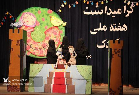 ویژه برنامه هفته ملی کودک با مشارکت مراکز فرهنگی هنری اراک