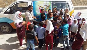 هفته ملی کودک در مراکز سیار روستایی کانون فارس
