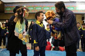 حاشیه ویژه برنامه هفته ملی کودک