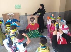 حضور پرشور کودکان در کارگاههای فرهنگیهنری کانون پرورش فکری کلاله